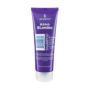 purple hair products for blondes